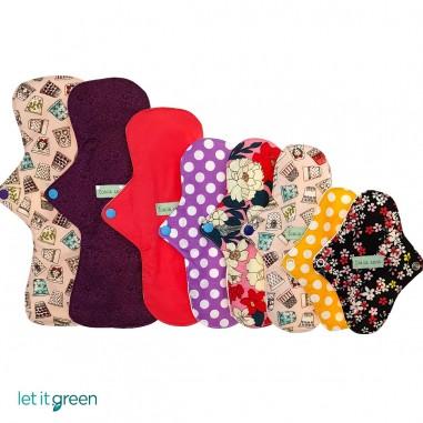 8 Pack toallas de tela Toalla Sana